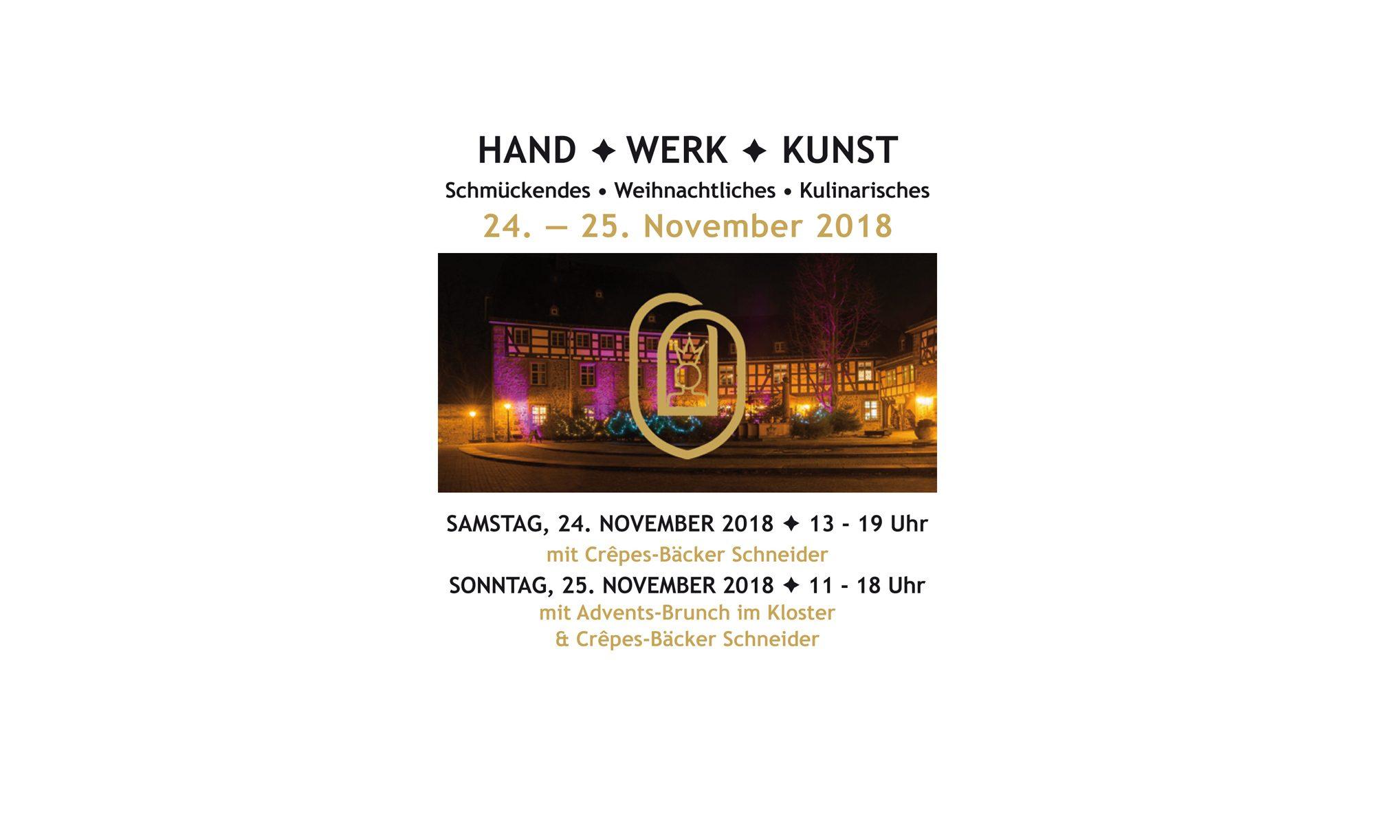 Hand-Werk-Kunst - Schiffenberg